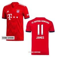 Jersey Bayern Munchen Munich Home 2017/2018 Custom Nama & Nomor