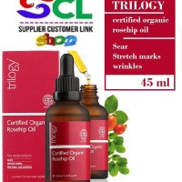 Trilogy certified organic rose hip rosehip oil 45 ml