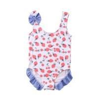 BG1841 - Baju Renang Bikini Tankini Anak Bayi Cewek Lucu Strawberry