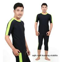 Ukuran XXL Baju renang laki-laki pria dewasa diving panjang
