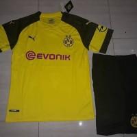 Jersey 1 Set Borussia Dortmun Home 2018 2019 grade ori Murah