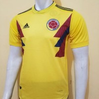 Jersey Grade Ori Colombia Home World Cup Oficial 2018 Limited