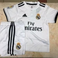Jersey Kids Real Madrid Home 2018 2019 Official Limited