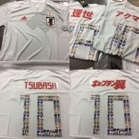 Jersey Baju Kaos Jepang Away Japan TSUBASA World Cup 20 Berkualitas