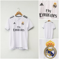 Jersey Real Madrid Home Official 2018 2019 Grade Ori Limited