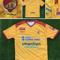KUNING jersey sriwijaya fc home gradeori liga 1 gojek 2 Diskon