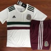 Jersey Baju Kaos Kids Anak Kecil Meksiko Mexico Away Wo Diskon
