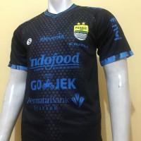 Jersey Persib Bandung 3Rd Hitam Gojek Liga 1 2018 Grade Limited