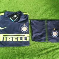 Jersey 1 set Inter Milan 3rd 2017 2018 grade ori offic Diskon