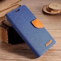 Flip Cover Wallet Dompet Kulit Soft Skin Cover Case Casing HP Vivo V7