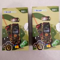 HP BRANDCODE B81 ARMY LASER TERBARU BIG SPEAKER MOTIF LORENG BARU