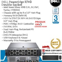 DELL Server R740 Intel Xeon Silver 4110 Double Socket RackmountSeries