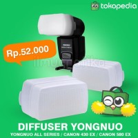 Stok Update! Diffuser U002F Difuser Flash Speedlite Yongnuo 460, 560