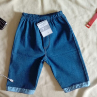 Celana Jeans Pendek Anak Laki dan Perempuan Usia 1 s/d 4 tahun