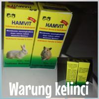 Vitamin penambah stamina kelinci & hamster