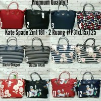 Tas Kate Spade 2in1 Premium Import Quality 2 ruang