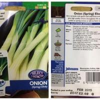 Benih Sayuran Johnsons Import - Onion Spring Elody - FR Murah