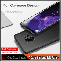 Case Samsung Galaxy S9 New Edition Casing Slim hp Cover