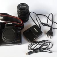 Camera Kamera DSLR Canon EOS 1000D Full Aksesoris