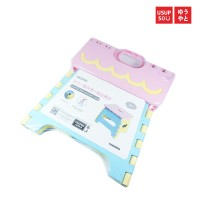 Usupso colorful fold antiskid stool / Kursi Lipat