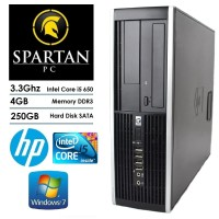 PC BRANDED HP 8100 CORE i5 RAM 4GB HDD 250GB SFF DESKTOP