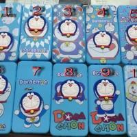 Case Jelly Doraemon Head Doll Samsung J2 & J7 Prime, J4 Pro, J6 2018