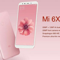 HP [ NEW ] XIAOMI REDMI 6X -(Setara MI A2)RAM 4/64GB -Ready warna PINK