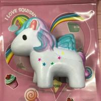 Best Seller Squishy Slow Sequisi Kuda Unicorn Lucu Mainan Anak Murah