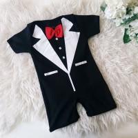 Harga baju bayi laki laki lucu keren romper jas bayi tuxedo bayi tuxedo   antitipu.com