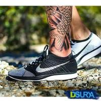 d906e44d8b359 Sepatu Nike Air Flyknit Racer Premium 01 - Olahraga Sneaker Running