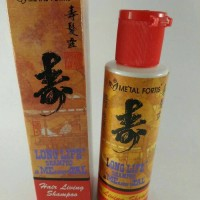 Metal Fortis Long Life Shampoo 100ml Bpom / shampo pemanjang rambut