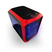 Harga cube gaming rutor red mini itx case side window front 1 x 20cm | antitipu.com