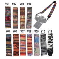 Strap Vintage Batik Kamera Canon Nikon Fujifilm Sony dll