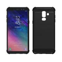 Soft case Xiaomi Samsung A6 Plus 2018 A6+ Carbon softcase Fiber Armor