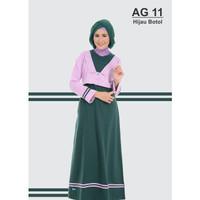 Alnita Gamis AG 11 hijau botol