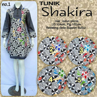 Tunik dress batik shakira