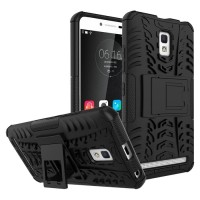 CASE LENOVO A6600 - Rugged Armor Stand Bumper Case Casing Cover