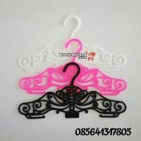 Harga gantungan hanger baju plastik hanger batik bunga toko baju dres   antitipu.com