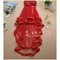 Mini dress/Bridesmaid dress/Baju pesta ekor/Dress pendek