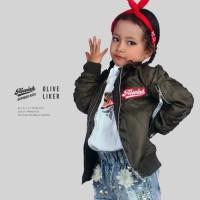 Jaket Bomber Anak Premium Anti Air & Angin /jaket hijab panjang syari