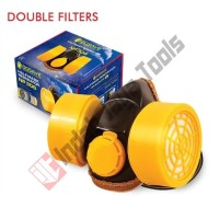 Masker Obat Double GOSAVE NP 306 / Tabung Ganda / Chemical Respirator