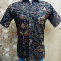 Harga hem kemeja batik lengan pendek murah geser untuk gambar | Pembandingharga.com