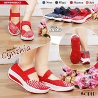 Harga Sepatu Cynthia Wedges Travelbon.com