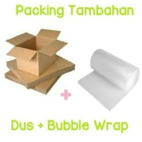 Bubble wrap + Dus