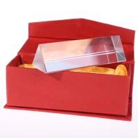 Kaca Prisma Segitiga 10cm Untuk Difraksi / Dispersi Cahaya Pelangi