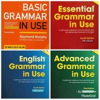 Paket Komplit 4 Buku Cambridge Grammar in Use with CD