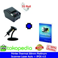 Paket Komputer Kasir Toko Murah 05 |Software|Printer |Scanner Laser