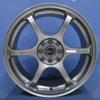 Velg Racing Avanza ring 17 model YUZAWA JD6030 HSR Grey
