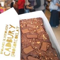 Brownies Cadbury Silverqueen uk 22x10cm (via JNE Yes/Go Send)
