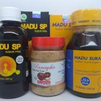 Harga paket madu penyubur suka sp pria wanita plus bubuk buah zuriat   Pembandingharga.com